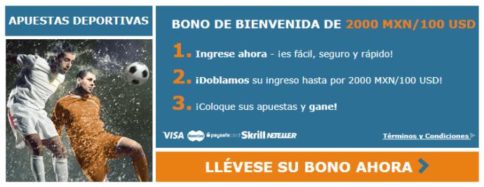 Bono de Bienvenida Rivalo Deportes