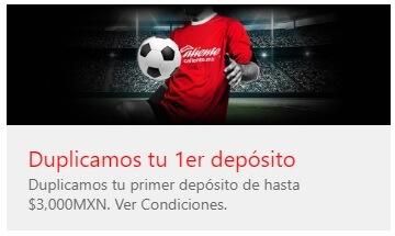 Bono Depósito Deportes