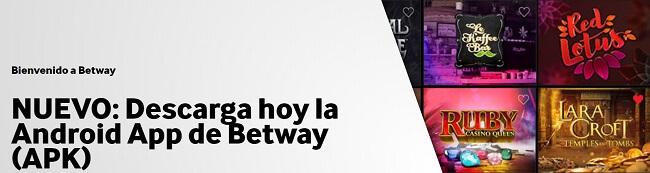 Betway Móvil App