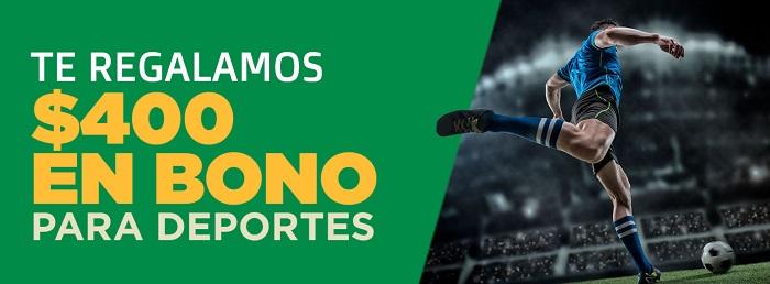 Ganabet Bono Deportes por Registro