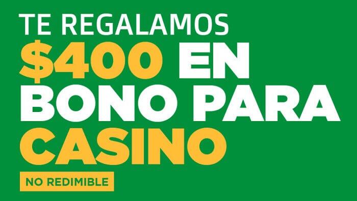 Ganabet Casino Bono por Registro